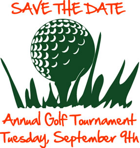 Save the Date- Golf Tournament September 9, 2014