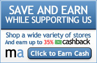 Save & Earn while supporting Chances & Changes ... Click to earn cash